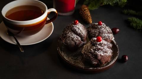 ▶▶ Šokoladiniai keksiukai