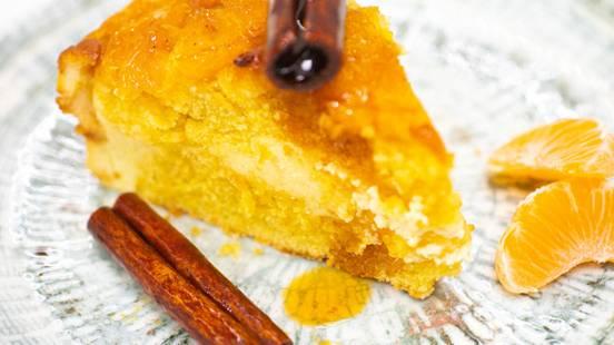 ▶▶ Varškės pyragas su mandarinais