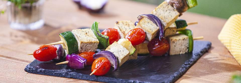 Keptos daržovės su tofu