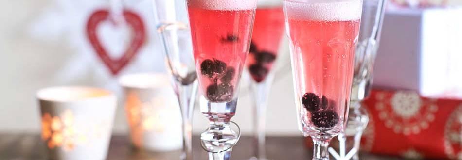 Šampanas su mėlynėmis