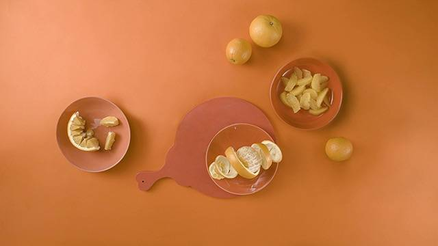 Kaip pjaustyti apelsinus?